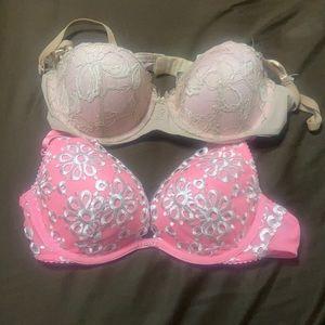 2 Reposhed Victoria's Secret bras 34B